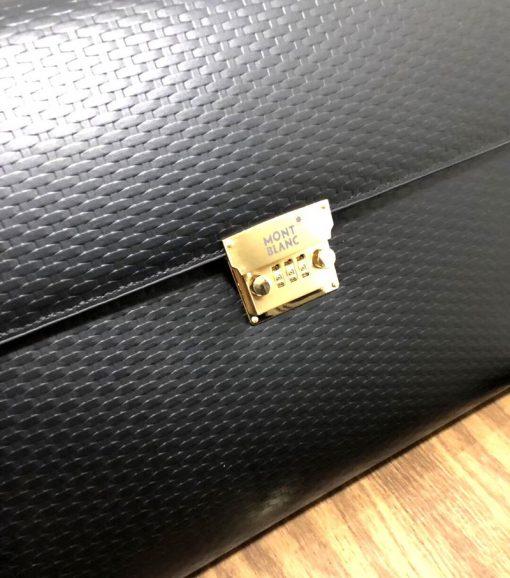 Cặp da khóa số MontBlanc cao cấp VOD61